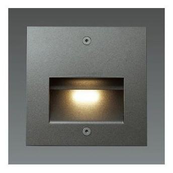 山田照明 LED一体型フットライト ダークグレーメタリック 白熱灯30W相当 電球色 AD2421L