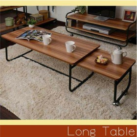 テーブル MUSH 伸縮テーブル MUET-105(代引不可)