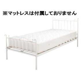 東谷/あづまや【メーカー直送代引不可】  【納期未定】ベッド シングル B-241S-WH