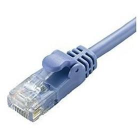 エレコム LD-GPY/BU2  CAT6準拠 Gigabit やわらかLANケーブル ヨリ線 ブルー 2m