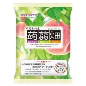 マンナンライフ 蒟蒻畑 白桃味 25g×12個入×12袋 (もも ピーチ こんにゃくゼリー)