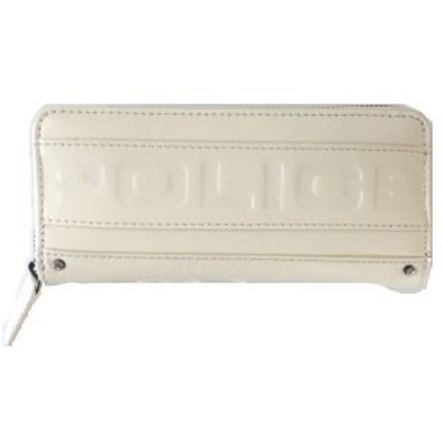 POLICE(ポリス) METRO 長財布  ホワイト PA-58102-40【並行輸入品】【メール便不可】