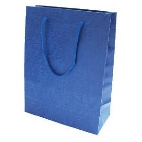 東急ハンズ インディゴ PC141 レザリーバッグ M ブルー