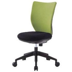 IRIS CHITOSE/アイリスチトセ  【代引不可】回転椅子3DA ライムグリーン 肘なし 3DA-45M0-LGN