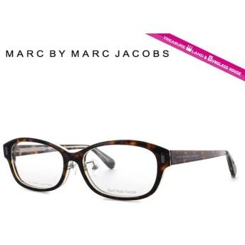 マークバイマークジェイコブス MARC BY MARC JACOBS 伊達 度付き メガネ 眼鏡 MMJ620F KRZ 54 ハバナ/クリア アジアンフィット メンズ レディース 国内正規品
