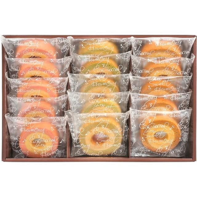 返品・キャンセル不可 セレブコレクション カラフルバームクーヘン 洋菓子 KRA-25A 代引不可