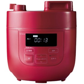 SP-D121 電気圧力鍋 レッド