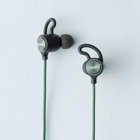bluetooth イヤホン カナル型 グリーン HP-G100BTG [リモコン・マイク対応 /ワイヤレス(左右コード) /Bluetooth]
