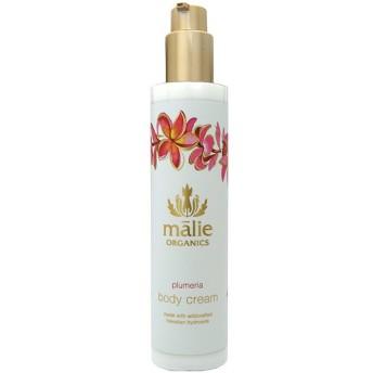 マリエオーガニクス Malie Organics ボディクリーム プルメリア 222ml Body Cream Plumeria 【香水 フレグランス】