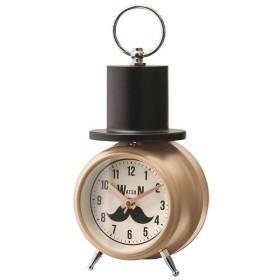 目覚まし時計 ベルクロック W.Barton(W.バートン) ベージュ