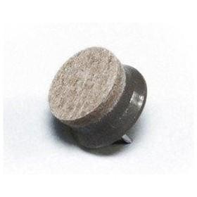 光 打込フェルト ブラウン 22mm丸 入数200 B-CQ2250