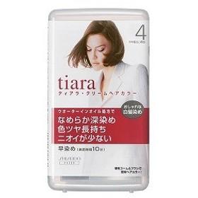 資生堂化粧品 TIARA(ティアラ) クリームヘアカラー 4