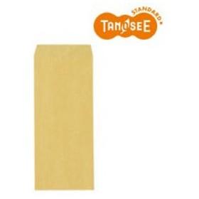 TANOSEE 筋入封筒 32g 長4 〒枠なし 100枚入(S-100)