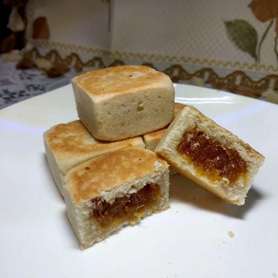 伴手禮-朱記素餅-純素椰香土鳳梨酥(12粒)