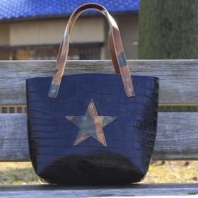 【限定1点もの】tanabata オリジナル レザー トートバッグ 本革ミニトート 革 牛革 栃木レザー