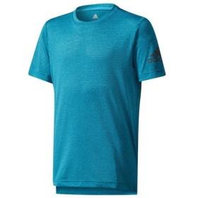 アディダス(adidas) ボーイズ TRINNING CLIMACOOL ヘザー Tシャツ CD8904 (Jr)