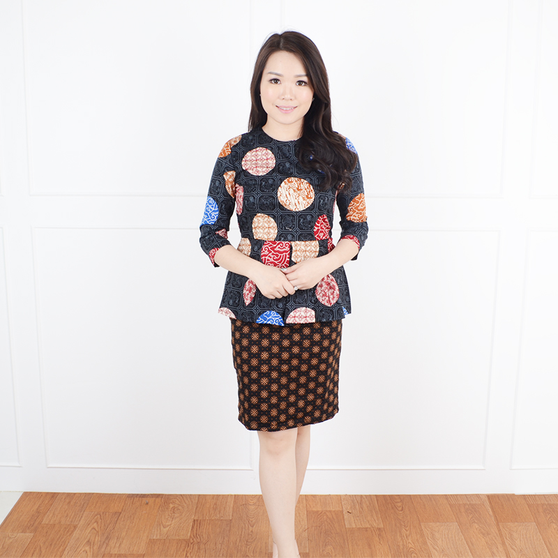 De voile batik wanita dahlia lg ppsp ds (Black) 53ce6780f1