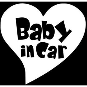 BABY IN CAR ベビーインカー ステッカー