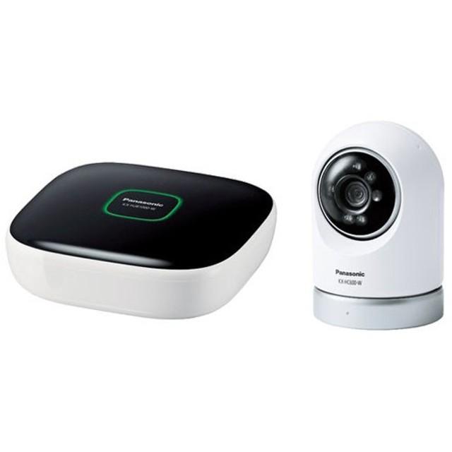 パナソニック ホームネットワークシステム 屋内スイングカメラキット KX-HC600K-W 《納期約1−2週間》