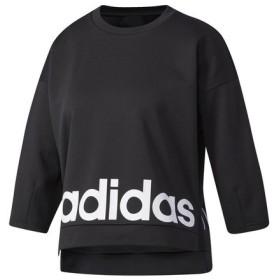 アディダス(adidas) CONTEMPORARY COMFORT 7分袖ロゴ Tシャツ CD2951 (Lady's)