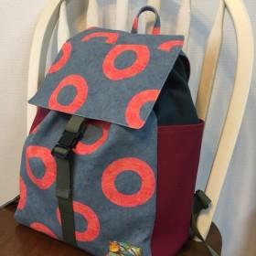 【オーダー受付中 】sakana daypack DONUTS