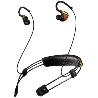 bluetooth イヤホン カナル型 ビンテージブラウン XE-M10BT-T [マイク対応 /ワイヤレス(ネックバンド) /Bluetooth]