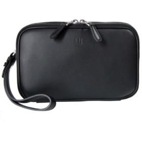 ダンヒル セカンドバッグ メンズ ポシェット ハムステッド ブラック L3CE90A
