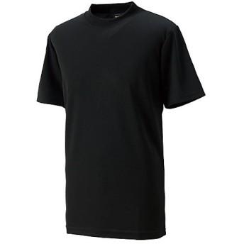 販売主:スポーツオーソリティ エスエーギア/半袖 ローネックアンダーシャツ ユニセックス BLACK 120CM 【SPORTS AUTHORITY】