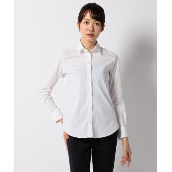 ICB(大きいサイズ) Cotton Shirting シャツブラウス レディース ホワイト系 40 【ICB(LARGE SIZE)】