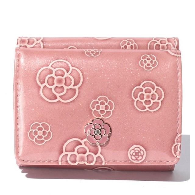 クレイサス(バッグ) アルゴ 3つ折りミニ財布 レディース ピンク F 【CLATHAS】