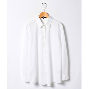 【64%OFF】 ラ・エフ Jカミーチェシャツ レディース ホワイト 13号(42) 【la.f.】 【タイムセール開催中】