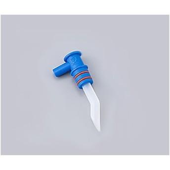 【部品】エマジン小型吸引器用交換部品 L型アダプター(ブルー) 1個【返品不可】