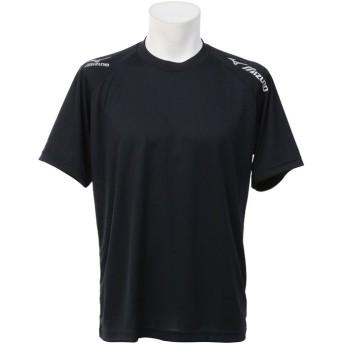 販売主:スポーツオーソリティ ミズノ/プラクティスシャツ ユニセックス ブラック×シルバー XL 【SPORTS AUTHORITY】