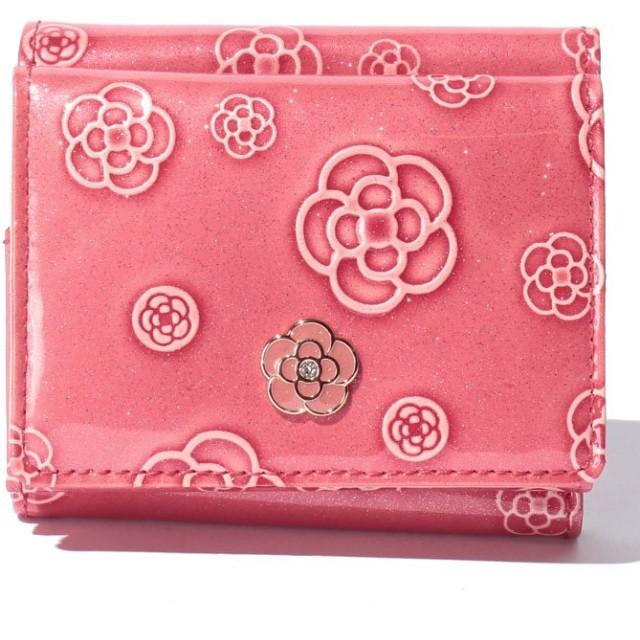 9311eb1ef960 クレイサス(バッグ) アルゴ 3つ折りミニ財布 レディース コーラル F 【CLATHAS】