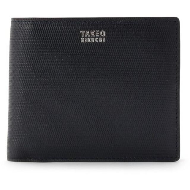 タケオキクチ ミニメッシュ2つ折り財布 [ メンズ 財布 サイフ 定番 二つ折り ギフト プレゼント ] メンズ ネイビー(593) 00 【TAKEO KIKUCHI】