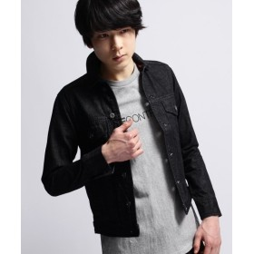 【20%OFF】 ベースステーション JAPANデニムジャケット メンズ ブラック(019) 01(S) 【BASE STATION】 【タイムセール開催中】