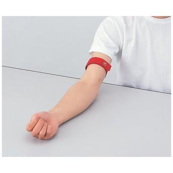 マジックタイプ駆血帯 VT38525-1 レッド 1本【返品不可】
