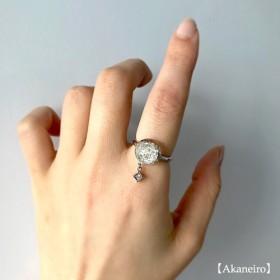 キラリと輝く白銀のリング