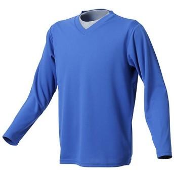 販売主:スポーツオーソリティ エスエーギア/メンズ/Vネック長袖インナーシャツ メンズ BLUE O 【SPORTS AUTHORITY】