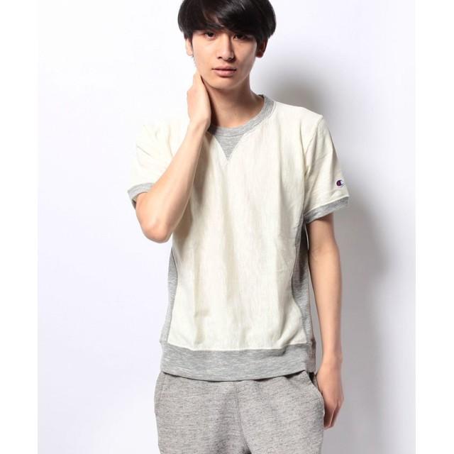 【30%OFF】 チャンピオン リバースウィーブ Tシャツ メンズ オフホワイト L 【Champion】 【セール開催中】