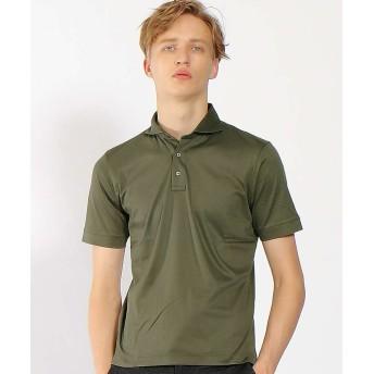 【50%OFF】 アバハウス シルフィースムースポロシャツ メンズ オリーブ 48 【ABAHOUSE】 【セール開催中】