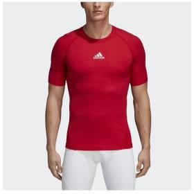 販売主:スポーツオーソリティ アディダス/メンズ/ALPHASKIN TEAM ショートスリーブシャツ メンズ パワーレッド S 【SPORTS AUTHORITY】