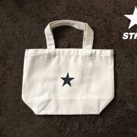 星のトートバッグ STARトートバッグ(横型/中) ナチュラル