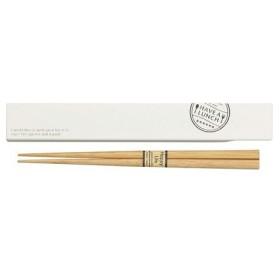 箸 箸箱セット ハブ・ア・ランチ ホワイト 箸18cm ( 1セット )