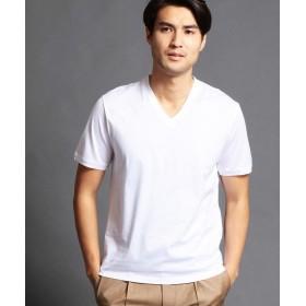 ムッシュニコル シルケットTシャツ メンズ 09ホワイト 48(L) 【MONSIEUR NICOLE】