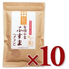 桜井食品 さくらいの有機育ち 有機小麦ふすま ブラン  100g × 10袋