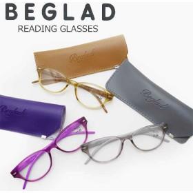 老眼鏡 女性 おしゃれ ウエリントン ツートンカラー シニア グラス 度数 1.0 - 2.5 BGT1013 メガネケース付き 携帯用 リーディンググラス メガネ 眼鏡 エレガント コンパクト 携帯