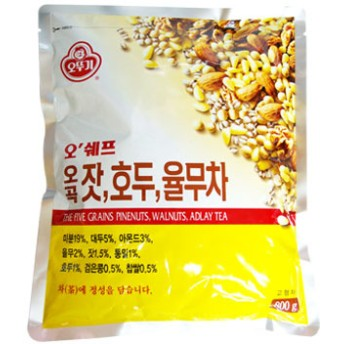 『オトギ』五穀・松の実・クルミ ハトムギ茶|ユルム茶(800g) [1食置き換え][ダイエット][健康茶][伝統茶][韓国お茶][韓国食品]