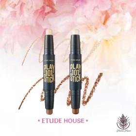 韓国コスメ ETUDE HOUSE エチュードハウス ハイライト シェーディング プレイ101スティック Duo