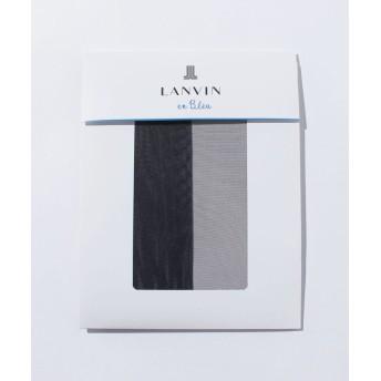 ランバンオンブルー(レディスソックス) 交編パンスト(L-LL) レディース サフィール L-LL 【LANVIN en Bleu(Ladies Socks)】
